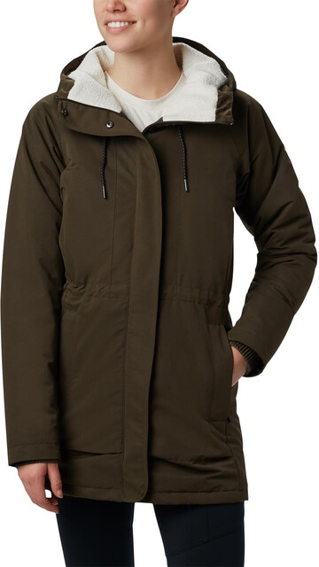 Columbia South Canyon Sherpa Lined Jacket Women olive green